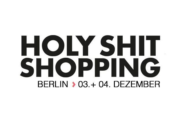 Holy Shit Shopping Berlin